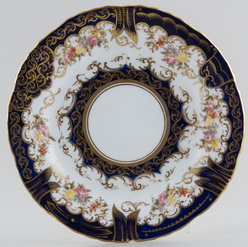 Crown Staffordshire Unidentified Pattern colour Plate c1900