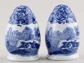 Spode Italian Salt and Pepper Pots or Shakers c1930s