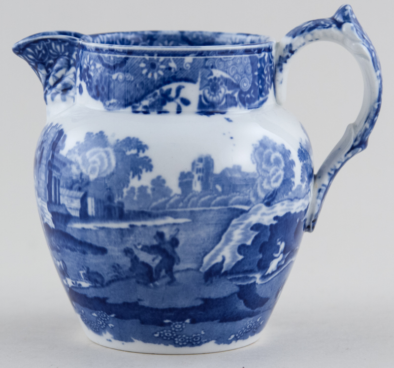 Spode Italian Jug or Pitcher stretched Dutch c1930s