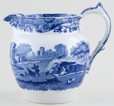 Spode Italian Jug stretched Dutch c1930