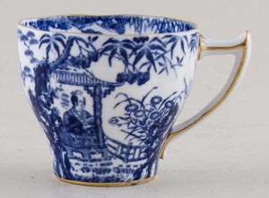 Royal Crown Derby Mikado Coffee Cup  c1930s