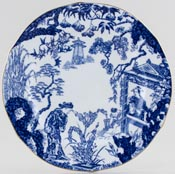 Royal Crown Derby Mikado Plate c1930s