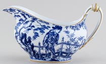 Royal Crown Derby Mikado Sauce Boat c1938