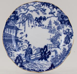 Royal Crown Derby Mikado Plate c1937