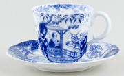 Coffee Cup and Saucer c1898