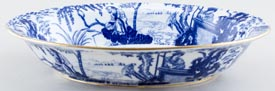 Royal Crown Derby Mikado Dish c1926