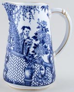 Royal Crown Derby Mikado Jug or Pitcher c1937