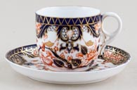 Cup and Saucer c1887
