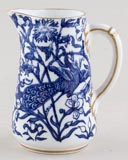 Royal Crown Derby Peacock Jug or Creamer c1901