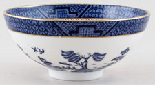 Royal Doulton Real Old Willow Chinese Bowl c1980s or 1990s