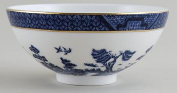 Royal Doulton Real Old Willow Chinese Bowl small c1980s