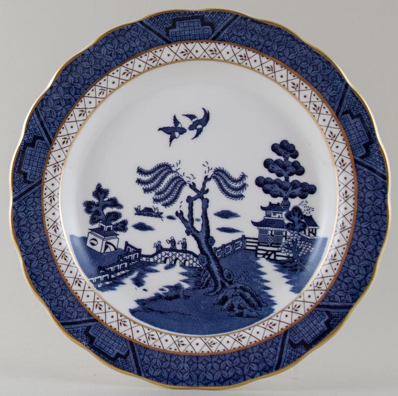 Royal Doulton Real Old Willow Plate c1980 or 1990s