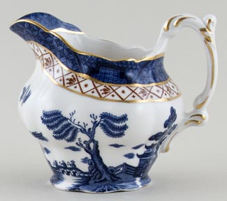 Royal Doulton Real Old Willow Jug or Pitcher c1980s