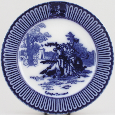 Royal Doulton Eglinton Tournament Plate c1930s