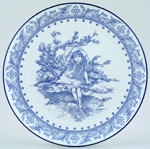 Royal Doulton Victorian Pastimes Plate Time to Dream c1999
