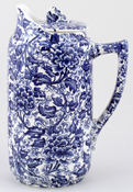 Jug with cover c1895