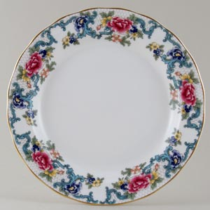 Royal Doulton Floradora colour Plate c1980s