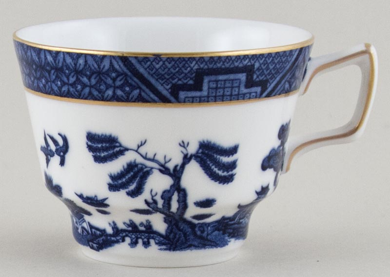 Royal Doulton Real Old Willow Teacup c1990