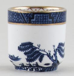 Royal Doulton Real Old Willow Egg Cup c1980s