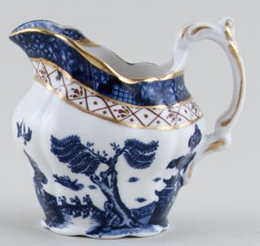 Royal Doulton Real Old Willow Jug or Creamer small c1980s
