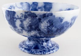 Bowl large footed c1900
