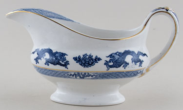 Booths Dragon Sauce Boat c1930