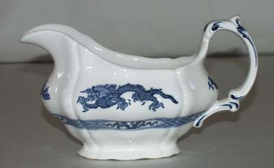 Booths Dragon Sauce Boat c1960s