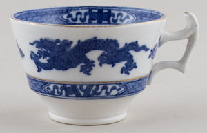 Cauldon Dragon Teacup c1930s