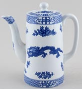 Cauldon Dragon Coffee Pot c1930s