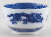 Cauldon Dragon Sugar Bowl small c1930s