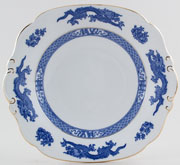 Cauldon Dragon Bread and Butter Plate c1933