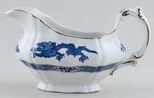 Booths Dragon Sauce Boat c1950s