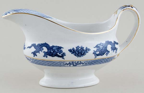 Booths Dragon Sauce Boat c1930s