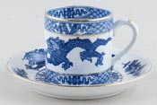 Booths Dragon Coffee Can and Saucer c1930s