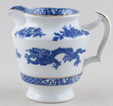 Cauldon Dragon Jug or Pitcher c1930s