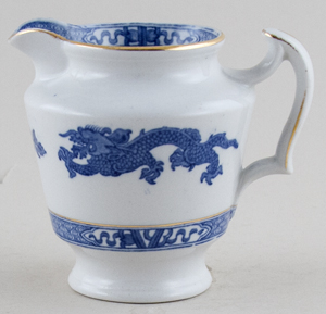 Cauldon Dragon Jug or Creamer c1930s
