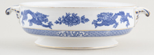 Cauldon Dragon Vegetable Dish base only c1930s