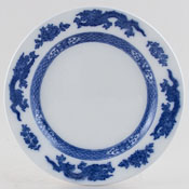 Cauldon Dragon Plate c1937