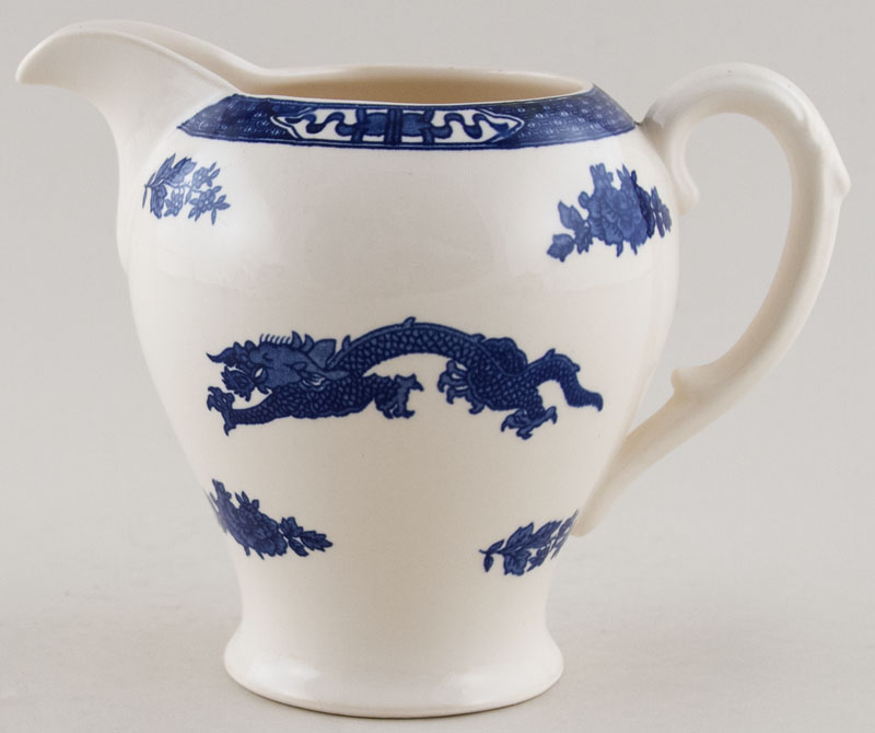 Cauldon Dragon Jug or Pitcher c1960s