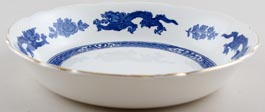 Cauldon Dragon Cereal or Dessert Bowl large c1950s