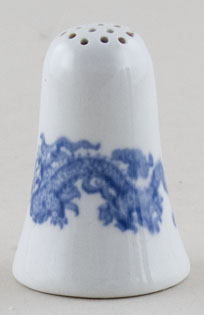 Unattributed Maker Dragon Pepper Pot c1920