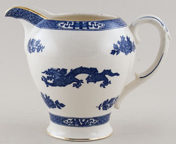 Cauldon Dragon Jug or Pitcher c1950s