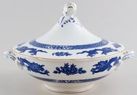 Cauldon Dragon Vegetable Dish With Cover c1950