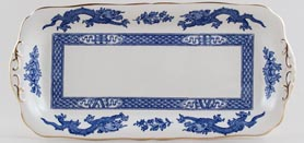 Cauldon Dragon Sandwich Tray c1950s