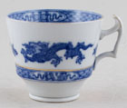 Cauldon Dragon Coffee Cup c1930s