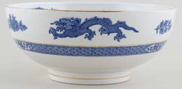 Cauldon Dragon Bowl c1930s