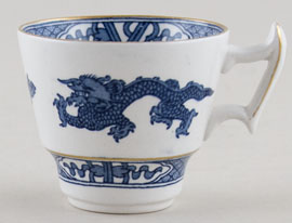 Booths Dragon Coffee Cup c1950