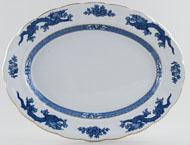 Booths Dragon Meat Dish or Platter c1950s