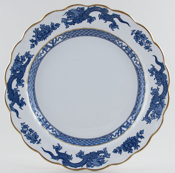 Booths Dragon Plate c1950s