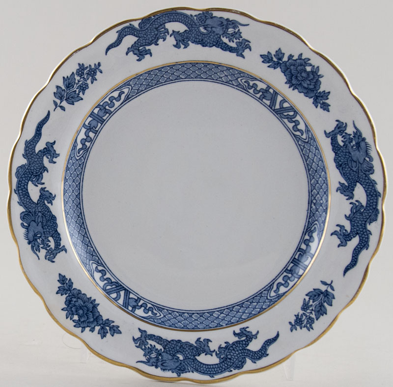Booths Dragon Plate c1960